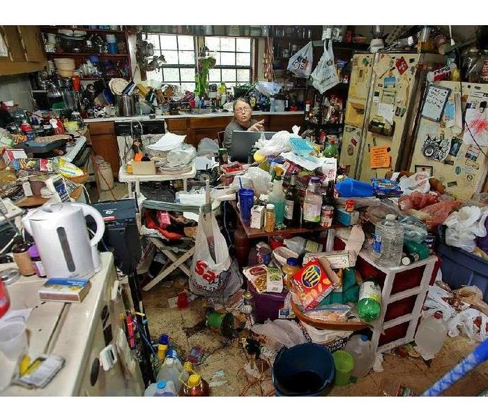 a picture of a house of a hoarder